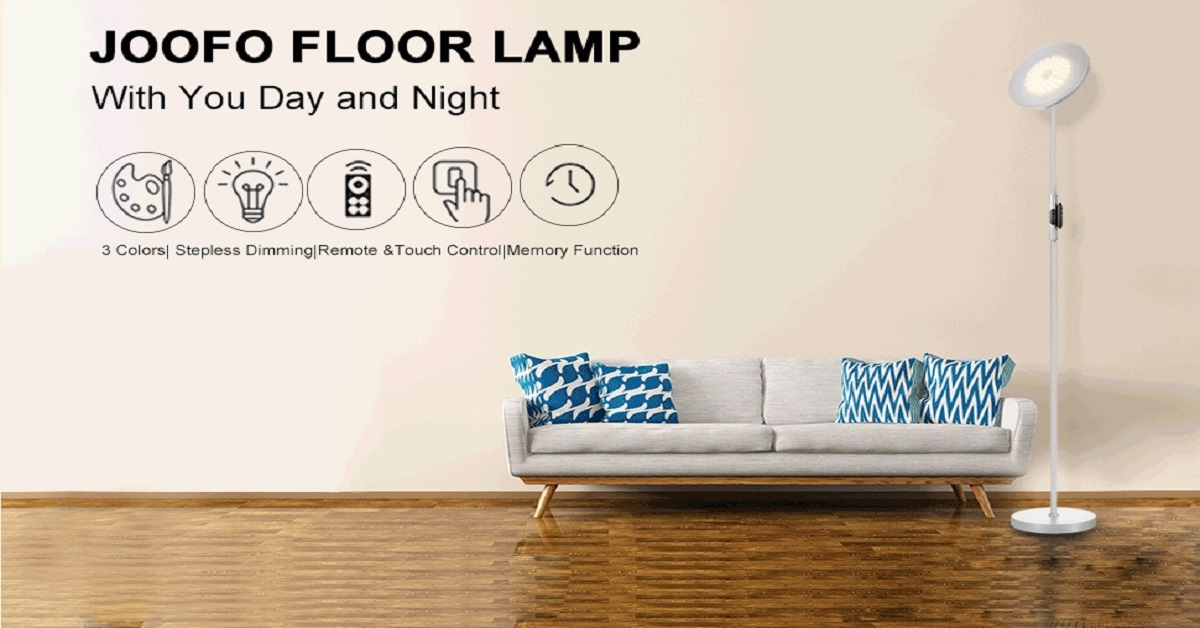 JOOFO Floor Lamp | Complete Review and Instructions 2020