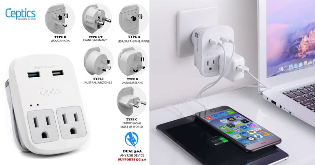 Travel adapter vs converter feature image
