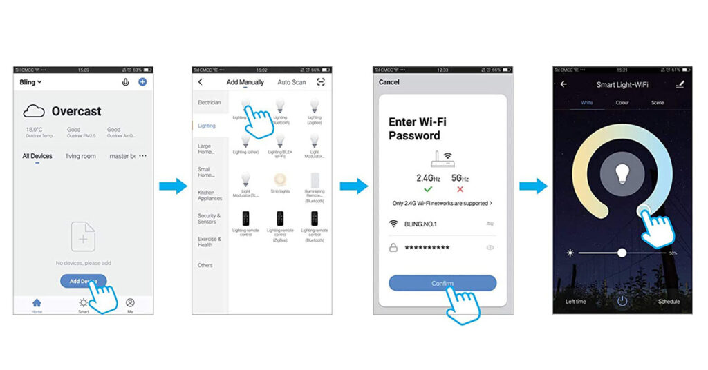 how-to-connect-smart-floor-lamp-with-smart-life-app