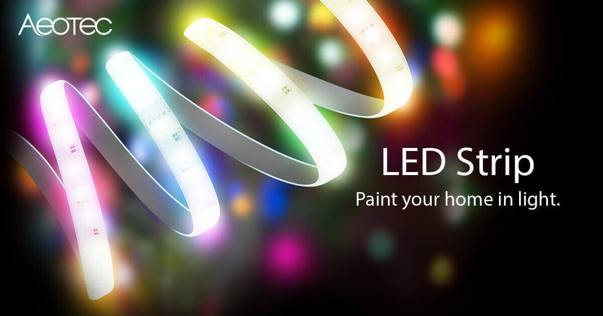 Z-Wave LED strip • Aeotec